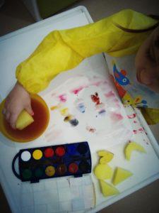 Zabawy stempelkami i pieczątkami dla dzieci